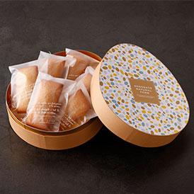焦がしバターとアーモンドが豊かに香る人気フィナンシェ