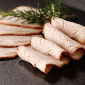 豊かなスモークの香りと国産豚の肉の旨みが広がる無添加ロースハム